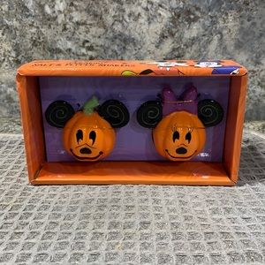Disney Mickey and Minnie Ceramic Salt and Pepper Shakers